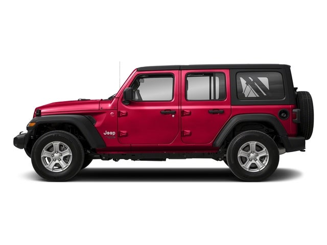 Unlimited Auto Sales >> 2018 Jeep Wrangler Unlimited Sahara Firecracker Red Clear Coat Exterior Paint For Sale San ...